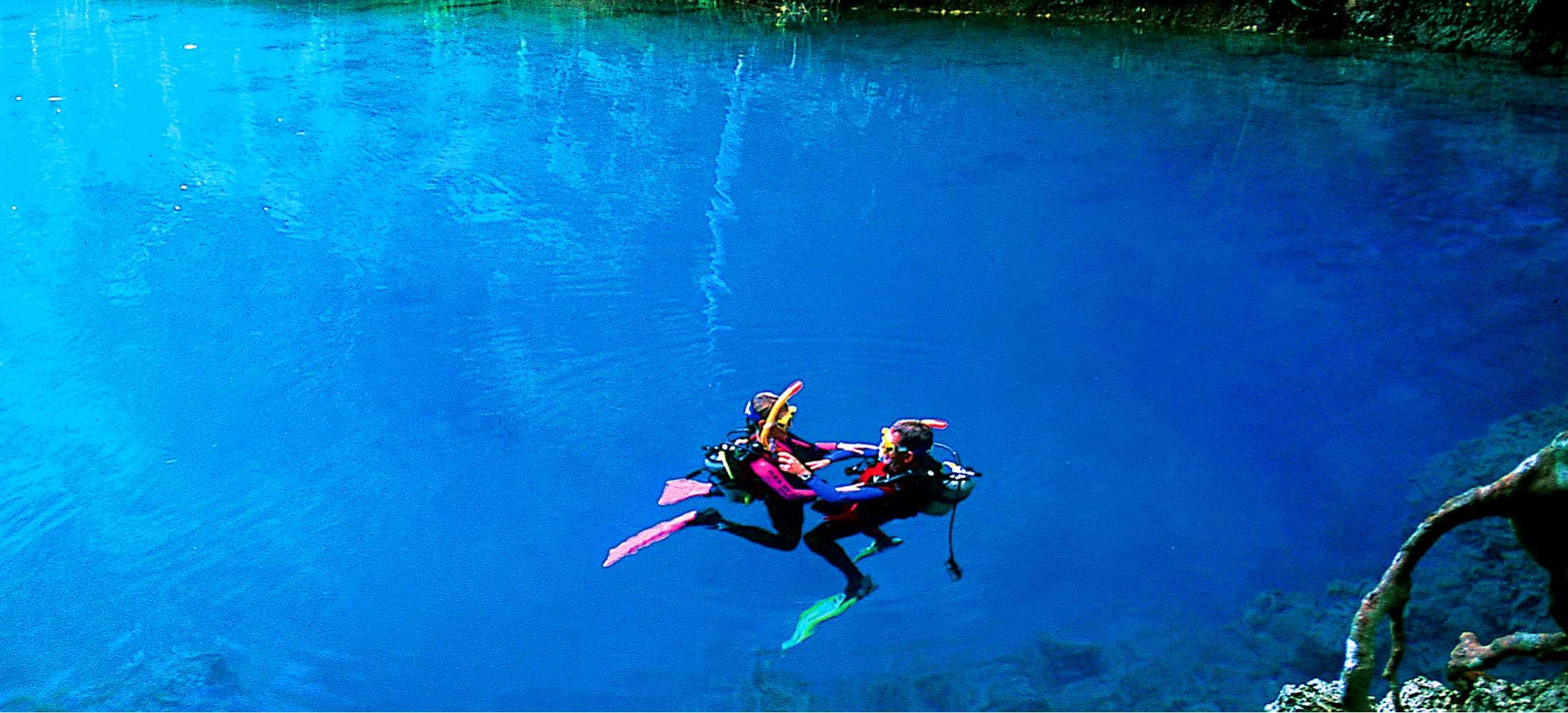 South Pacific Tours Vanuatu - Blue Hole